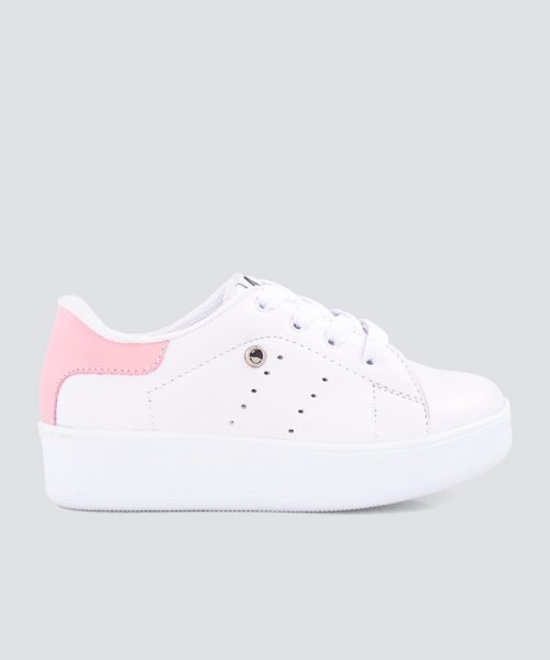 Mini PUMPS BLANCO ROSADO